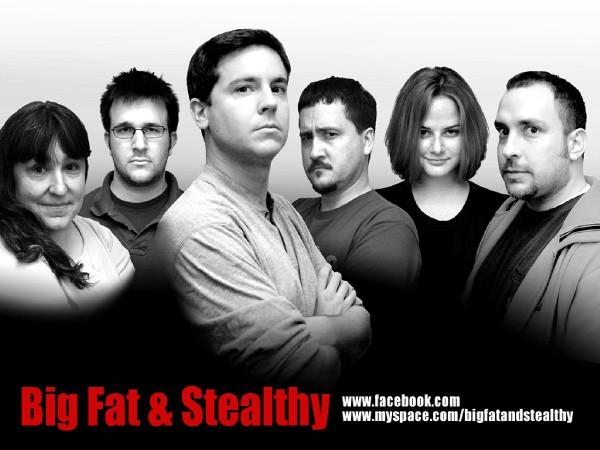 Big Fat & Stealthy was an improv team that mainly performed at ComedyWorx in Raleigh, N.C. We had a lot of fun together. I took our team photos and designed our marketing materials. What great memories.