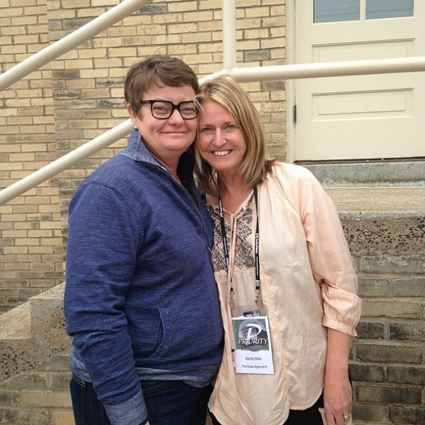 Kris and Sandy were featured in The Case Against 8, which screened at Full Frame 2014 on Saturday night.