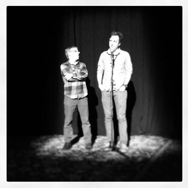 Steve Milligan and Brian McGinn at Full Frame 2013