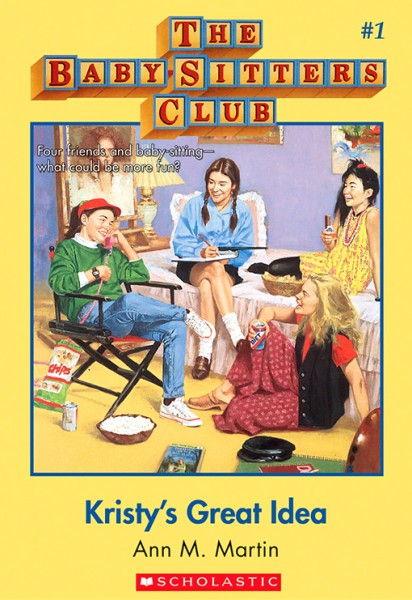 I was obsessed with reading The Babysitters Club.
