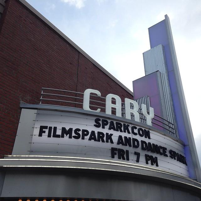 Film screening during filmSPARK on 9/12