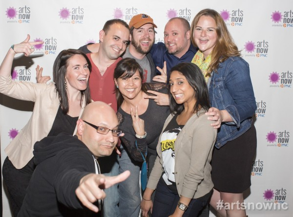 Sweet friends who have supported Brewconomy! Photo courtesy of ArtsNow NC.