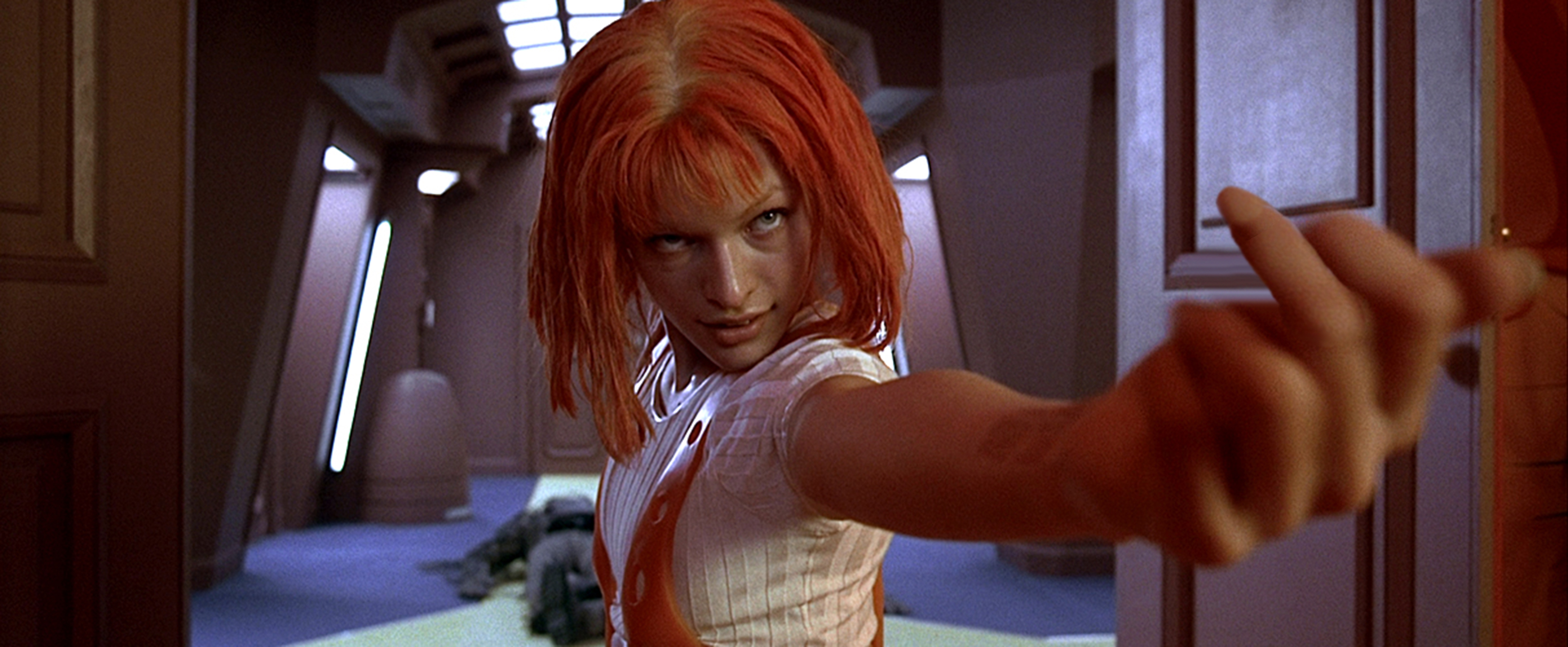 The Fifth Element is one of my favorite movies because of the strong female lead.