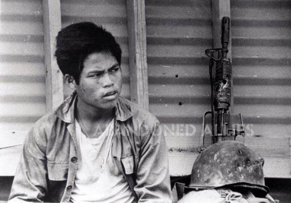 Photograph of a soldier during the Vietnam War. (Courtesy of Maj. John Plaster.)
