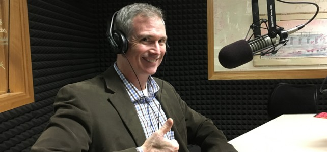 Our interview with Aaron Keck at WCHL