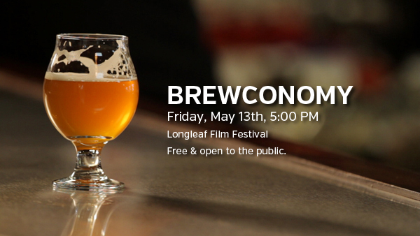 Brewconomy screening at the Longleaf Film Festival