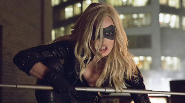Caity Lotz as the Canary in the CW's Arrow