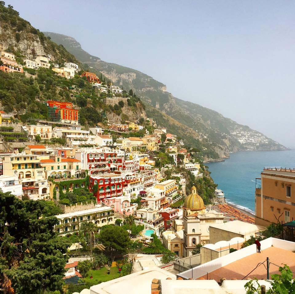 Family vacation in Positano, Italy