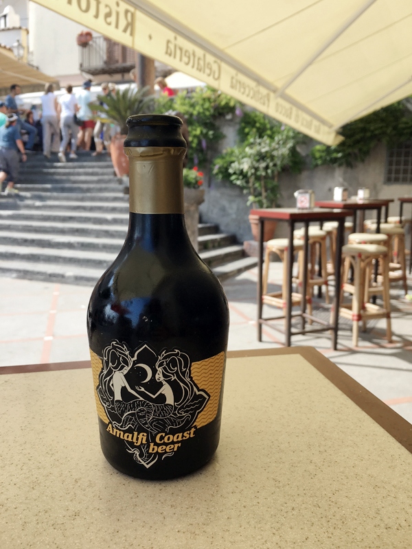Craft beer on the Amalfi Coast